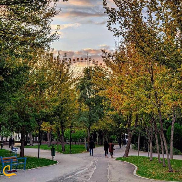 بازدید از پارک ملت مشهد