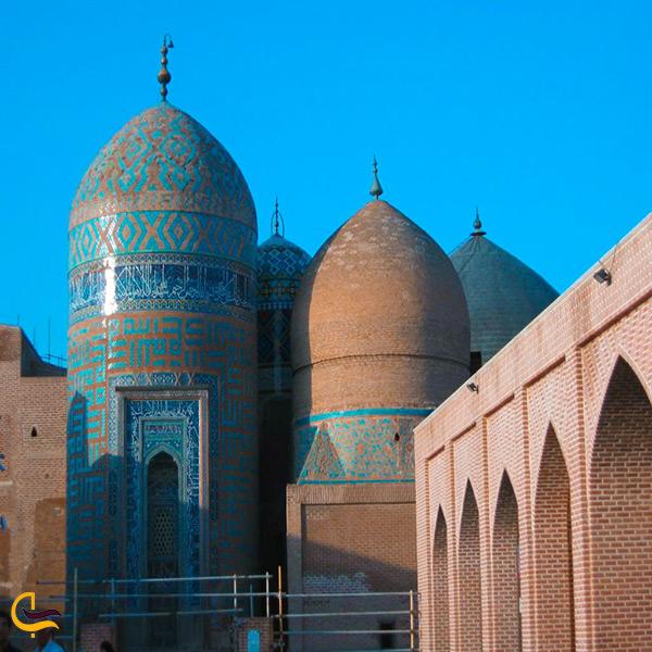 بازدید از بقعه شیخ صفی اردبیلی