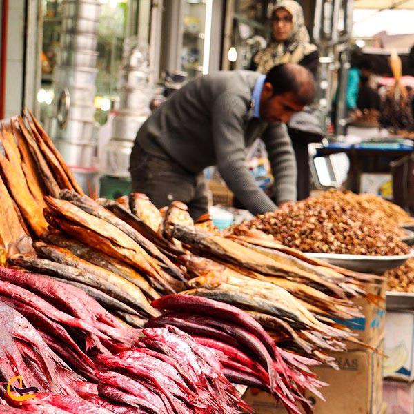 تصویری از بازارهای هفتگی آستانه اشرفیه