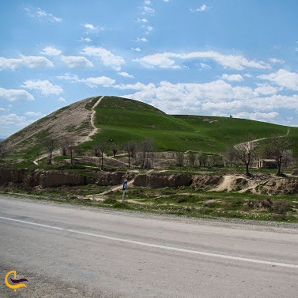 تصویری از طبیعت یارم تپه