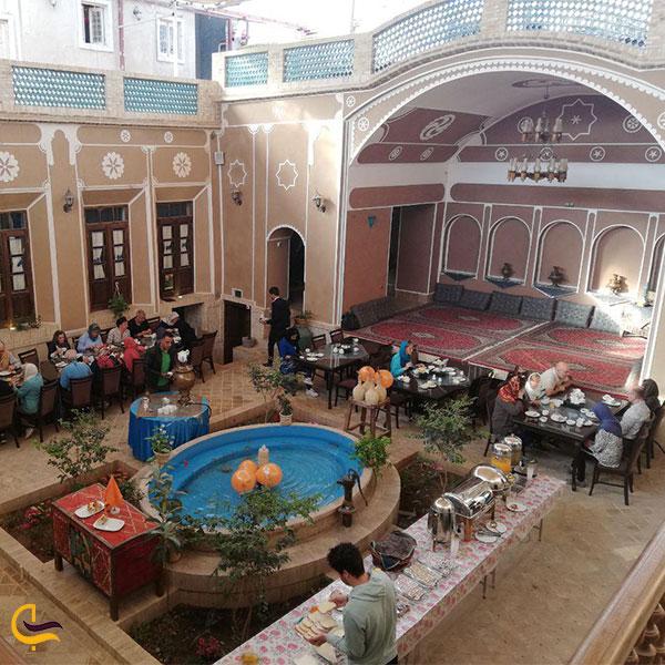 نمایی از هتل سنتی فیروزه یزد