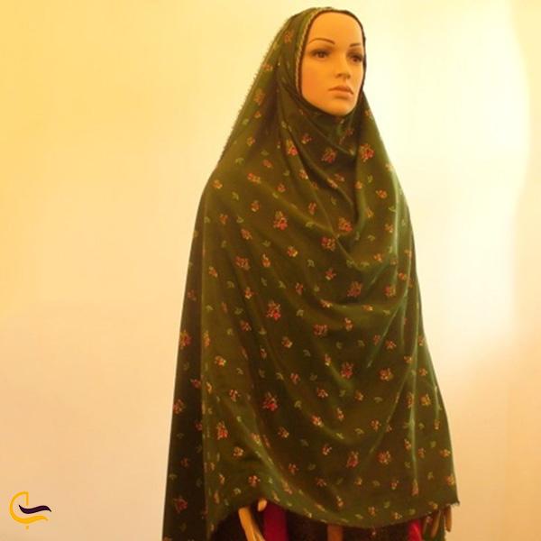 نمایی از لباس محلی یزد