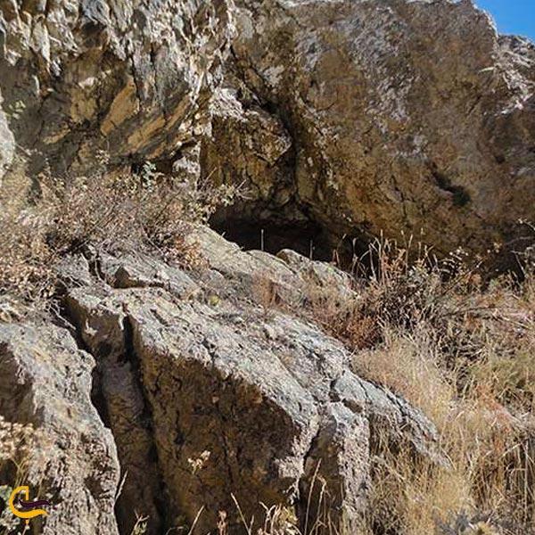 تصویری از غار عباس آباد قزوین