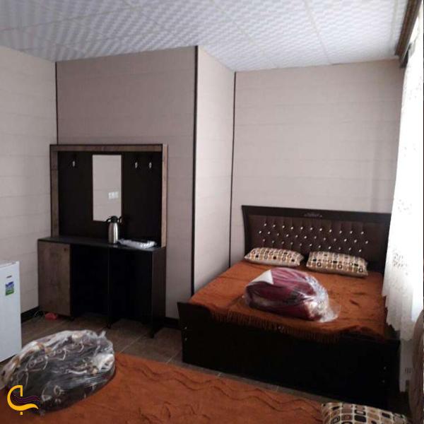 تصویری از اتاق های خانه معلم داراب