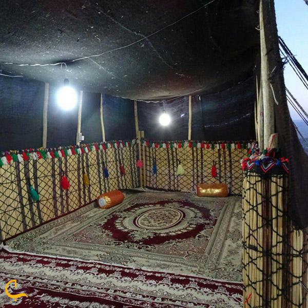 تصویری از اقامتگاه بوم گردی عشایر ایل بوم یاسوج