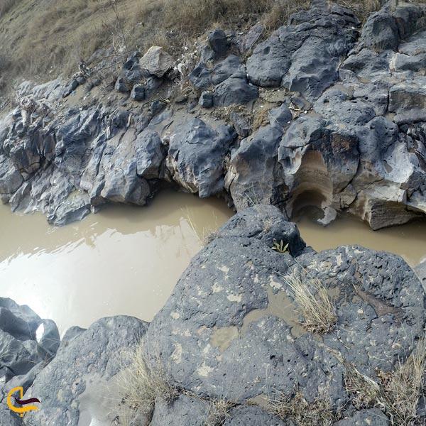 تصویری از رودخانه زنگمار ماکو