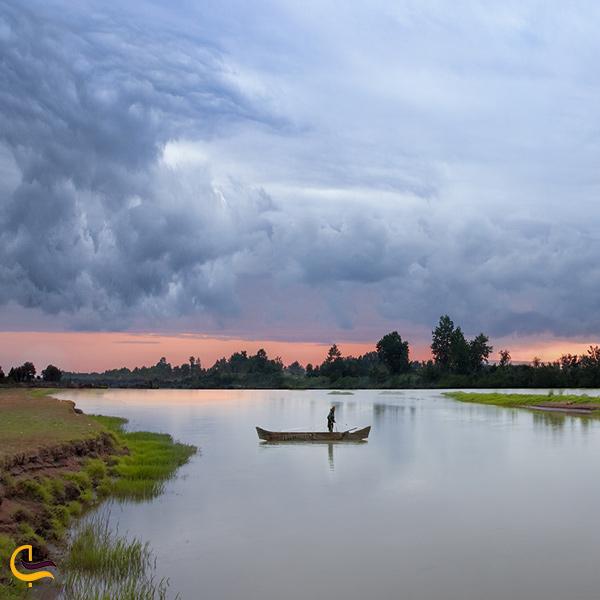 نمایی از پارک ملی بوجاق