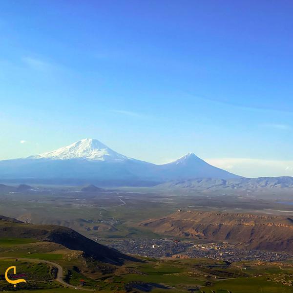 تصویری از روستای قره قاچ