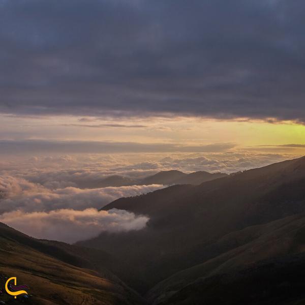 تصویری از ارتفاعات ییلاق سوچاله