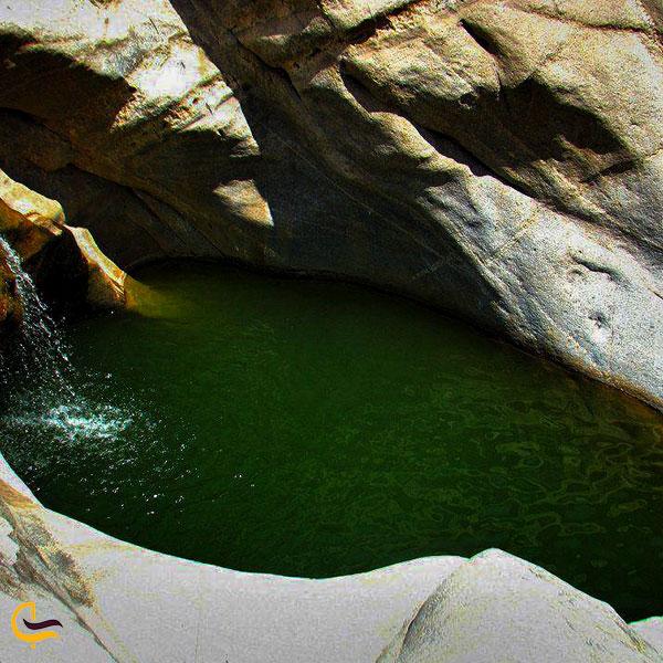 تصویری از طبیعت سرسبز هفت حوض