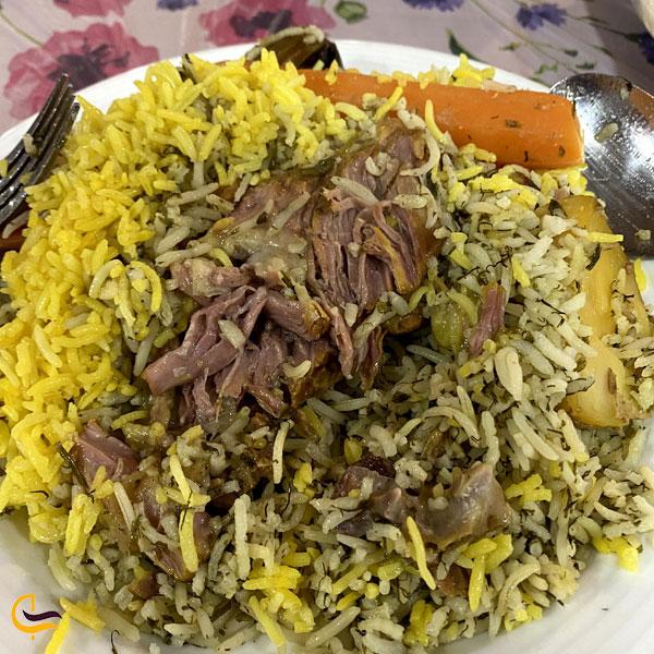 تصویری از رستوران های شهمیرزاد