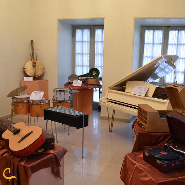اتاق موسیقی کوشک احمدشاهی