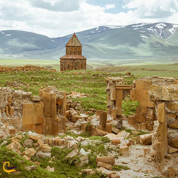 تصویری از شهر باستانی آنی