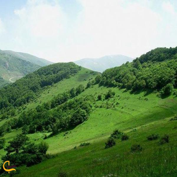 تصویری از منطقه حفاظت شده ارسباران