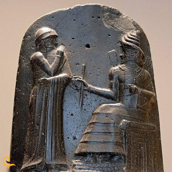 نمایی از دفینههایی از تمدن بابل