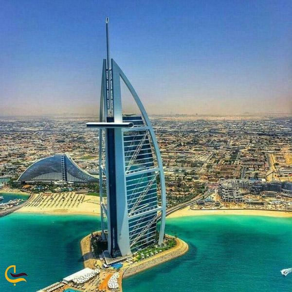 تصویری از برج العرب