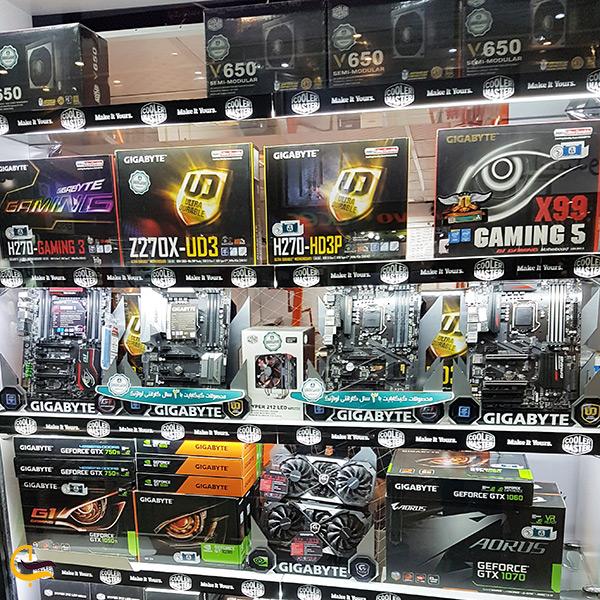 خرید قطعات نو کامپیوتر در مرکز کامپیوتر ایران در تهران