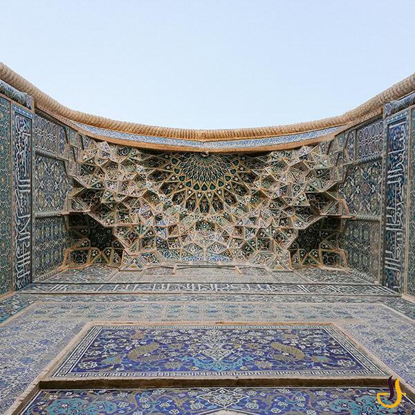 تزئینات مسجد جامع کرمان