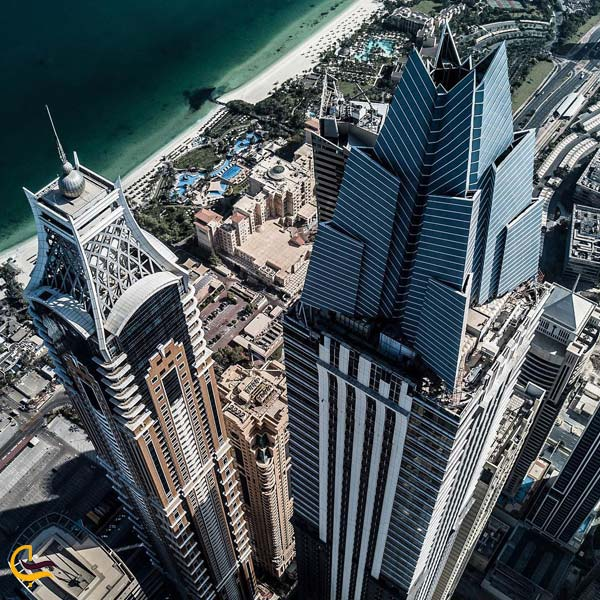 تصوی از برج مارینا 101 دبی