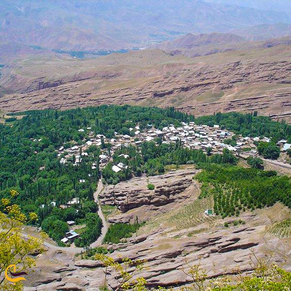 نمای کلی روستای گازرخان قزوین