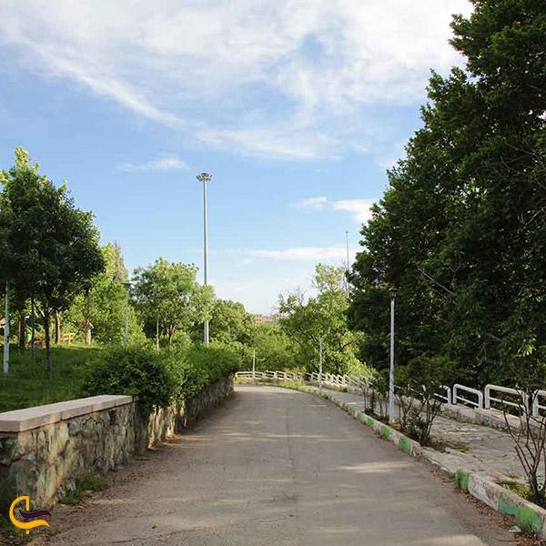 نمایی از پارک گلستان