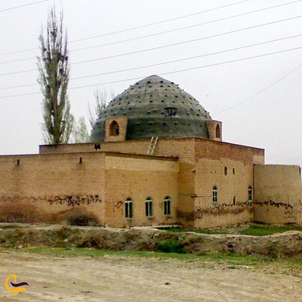 نمایی از مسجد تاریخی حمامیان
