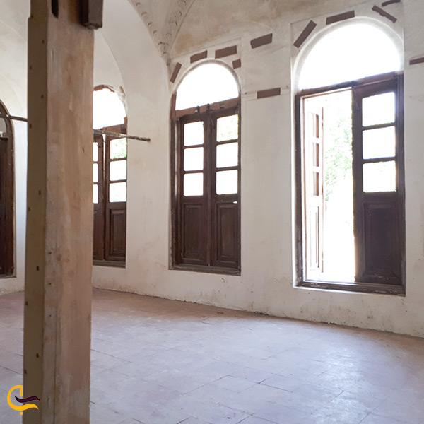 نمای داخل مطبخ عمارت خسروآباد