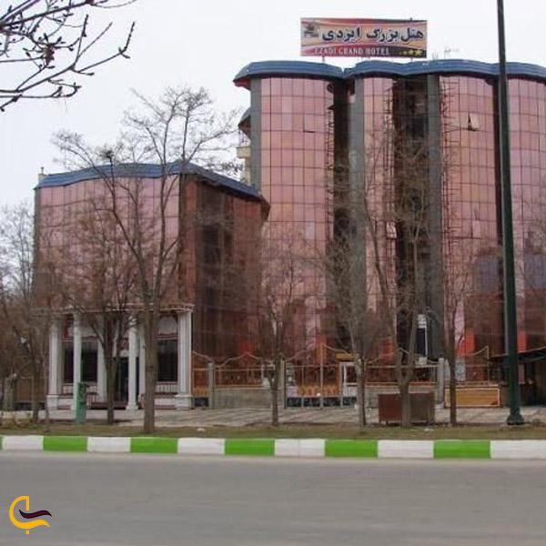 تصویری از هتلچهارستاده ایزدی بوکان
