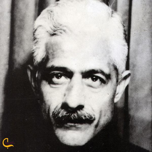 تصویری از جلال آل احمد مشاهیر طالقان