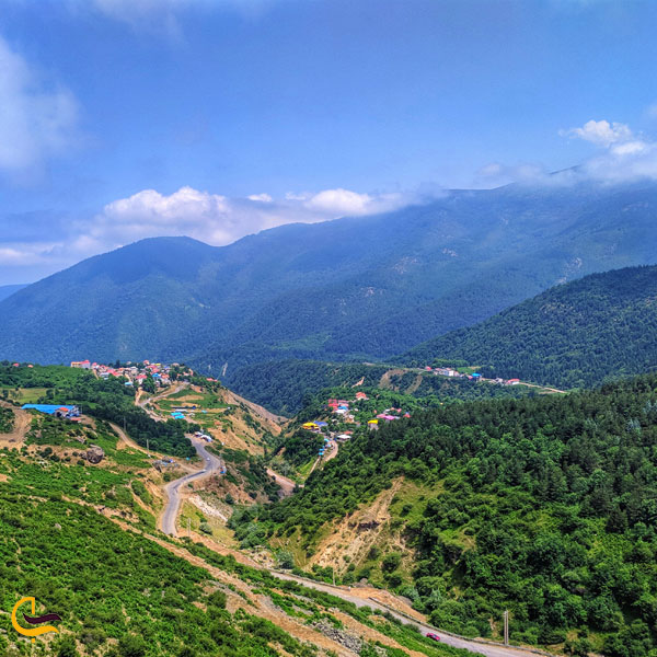 تصویری از طبیعت روستای جواهر ده