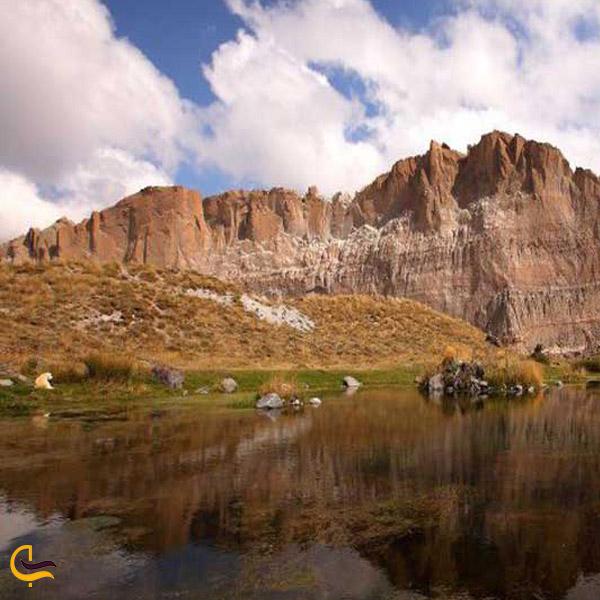 تصویری از طبیعت بکر تالاب جیران گلی