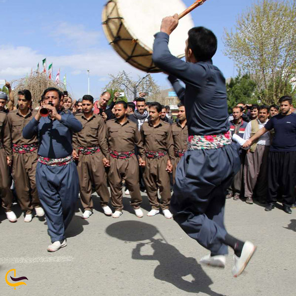 تصویری از رقص کوردی
