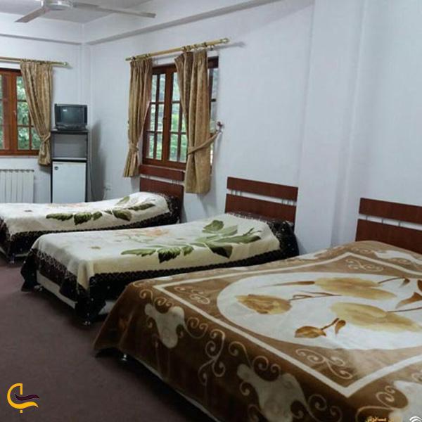 تصویری از اتاق های هتل آریا