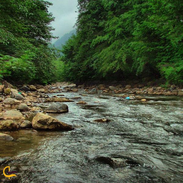 تصویری از رودخانه ماسوله