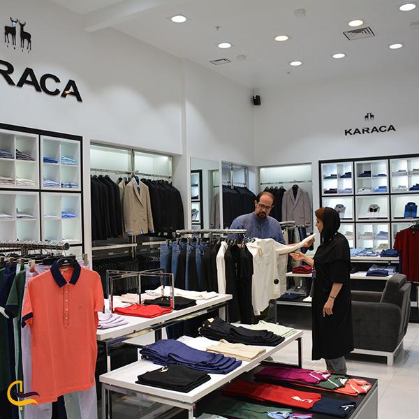 فروشگاه لباس مردانه در طبقه همکف برج آرمیتاژ مشهد
