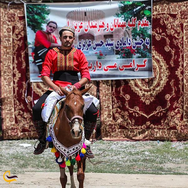 لباس محلی مردانه شهر کلات نادری