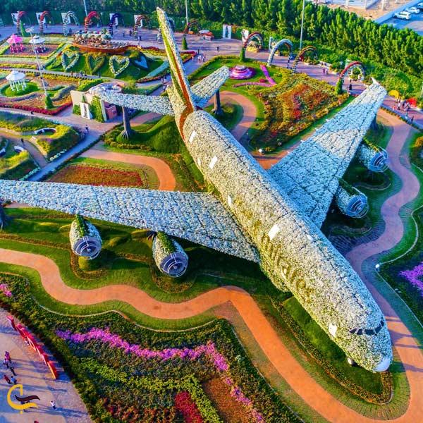 تصویری از باغ معجزه دبی