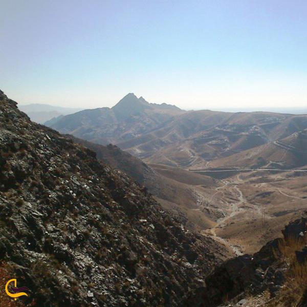 تصویری از کوه های خلج مشهد