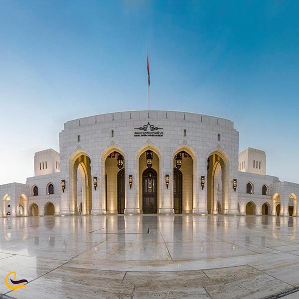خانه اپرا سلطنتی مسقط در عمان