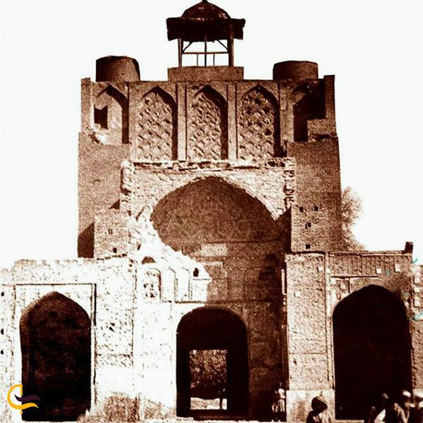 تصاویر قدیمی از مسجد جامع کرمان