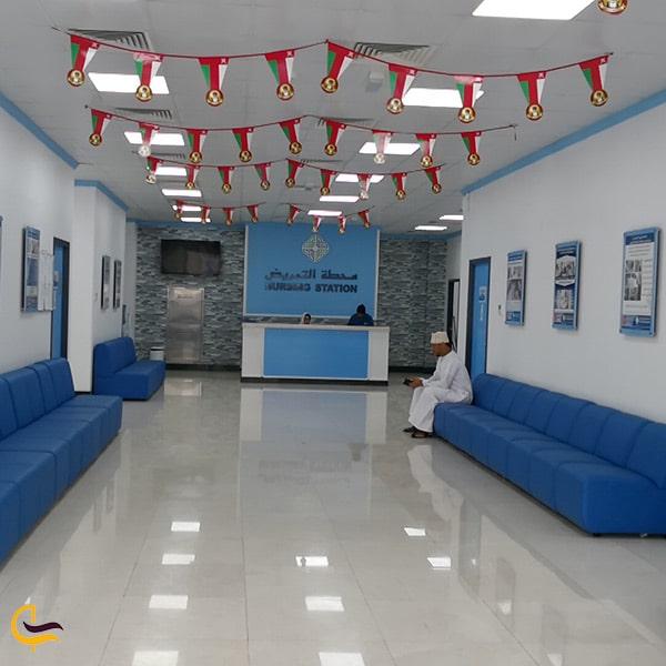 فضای داخلی بیمارستان آل حیات عمان