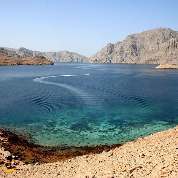 تصویر زیبا از فلات موسندام عمان