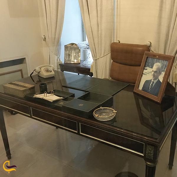 اتاق شخصی ولیعهد محمدرضا شاه پهلوی در کوشک احمد شاهی