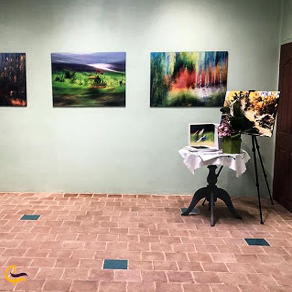 تصویری از نمایشگاه گالریخانه
