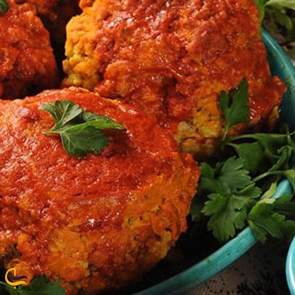 تصویری از غذای محلی تکاب