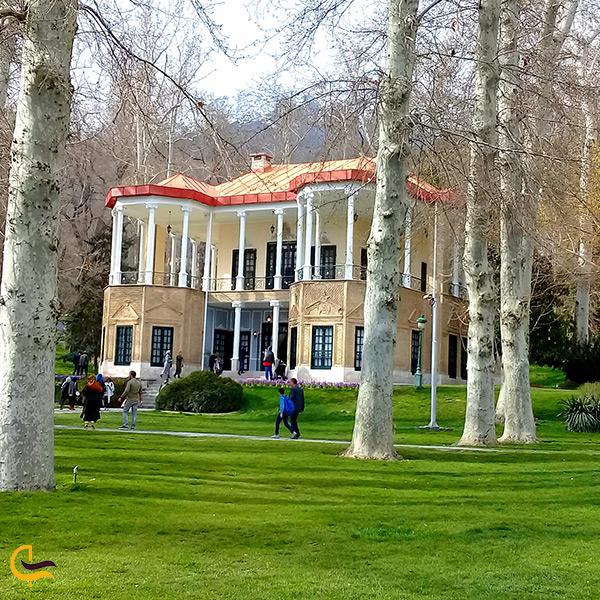 تصویر کاخ احمدشاهی در تهران