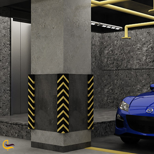تصویر پارکینگ برج آرمیتاژ مشهد