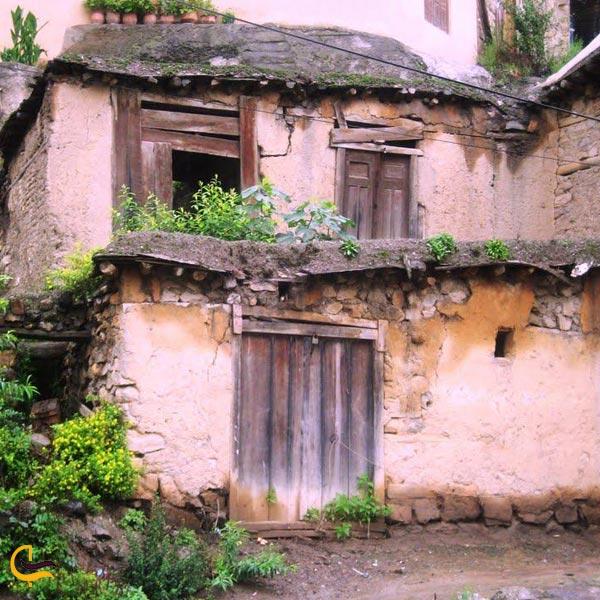 تصویری از خانه در ورستای ماسوله