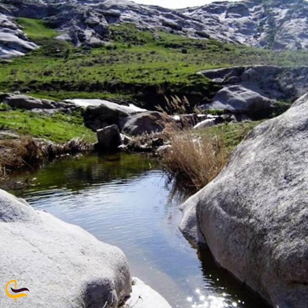 تصویری از حوض های پارک هفت حوض مشهد