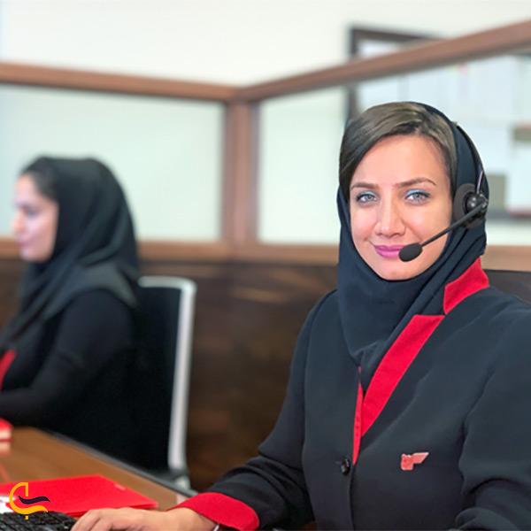 تهیه بلیط از آژانس مسافرتی برج اداری تجاری آرمیتاژ مشهد